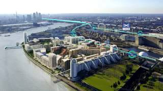 preview picture of video 'Royal Wharf - UK, London'