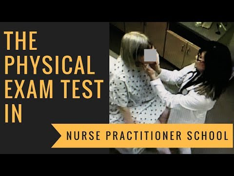 Physical Examination Test in Nurse Practitioner School