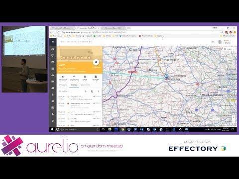 Aurelia AMS meetup #4: Built with Aurelia - Mikhail Shilkov