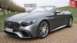INSIDE The NEW Mercedes AMG S 63 4MATIC+ Cabriolet 2019 | Interior Exterior DETAILS W REVS