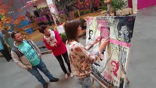 Live-Painting @ Hoftexplosion 2017
