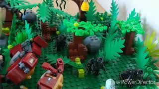 lego avengers infinity war battle of wakanda moc