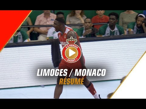 PLAYOFFS — Limoges 62 - 90 Monaco — 1/4 finale, match 2 — Highlights