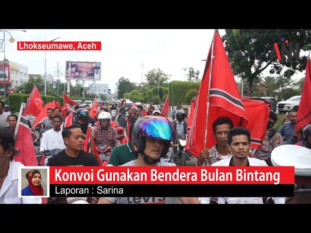 Konvoi Bendera Bulan Bintang, Sekelompok Pemuda Diamankan Polisi