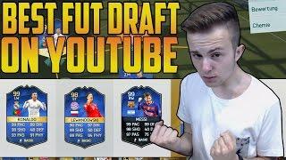 OMG  DAS BESTE DRAFT TEAM EVER   FIFA 16 99 RONALDO/MESSI FUT DRAFT Deutsch