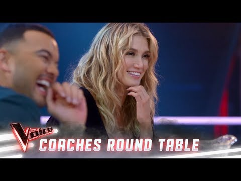 The perks of fame and a call from Elton John (Coaches Round Table) | The Voice Australia 2019