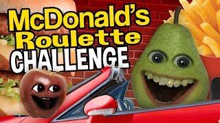 Annoying Orange   McDonald's Roulette Challenge!