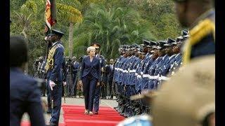 May day: Theresa meets Uhuru - VIDEO