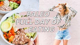 Paleo Recipes // Full Day Of Eating Gluten Free, Diary Free, Grain Free