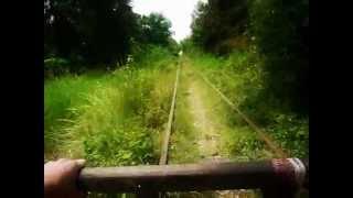 preview picture of video 'Bamboo Train, Battambang, Cambodia'
