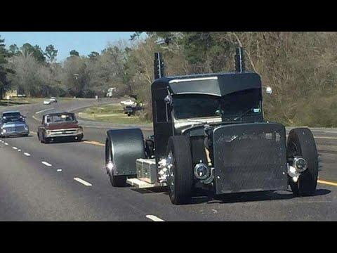 Rat Rod Semi Trucks