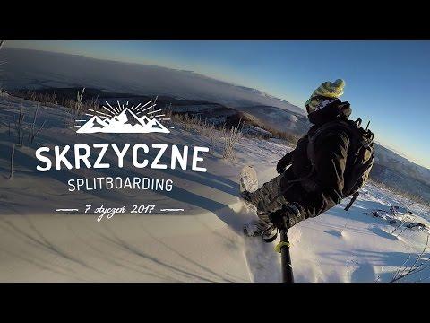2017 Skrzyczne Freeride Snowboard Splitboard