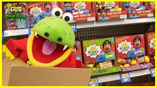 I MAILED MYSELF to WALMART to Toy Hunt for Ryan ToysReview Ryan's World Toys!!!