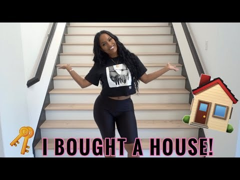 EMPTY HOUSE TOUR - I BOUGHT MY FIRST HOUSE!