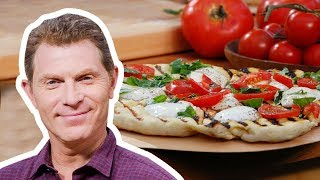 Bobby Flay Makes A Savory Pizza And Dessert Pizza   Food Network
