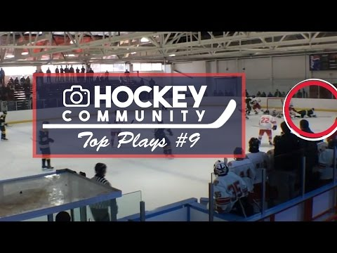 HOCKEY COMMUNITY TOP PLAYS #9 - DIVING GOAL