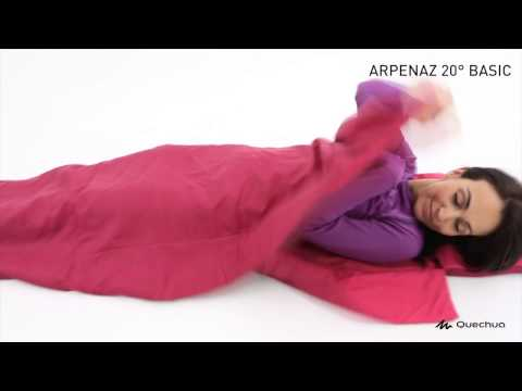 Quechua Arpenaz 20 Degree Celsius Blue Sleeping Bag