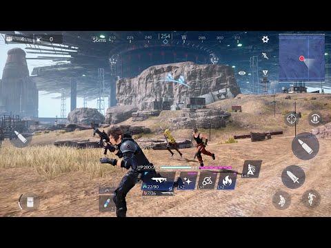 最終幻想大逃殺? 《Final Fantasy VII: The First Soldier》玩家可以選擇使用槍械、刀、魔法,同時也有召喚獸。
