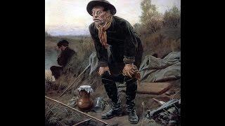 Картина рыболов художника перова