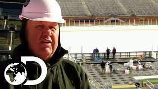 Building An Ice Rink | How Do They Do It?