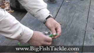 How to tie an Arbor fishing knot