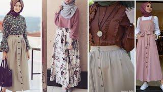 Pinafore Dress | Women Dress 2020 |Women Western Dress Design Ideas | Latest Hijab Fashion