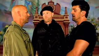 Expendables 2 Look-alikes - featuring Eric Buarque, Jason Stanly & Jade Roberts