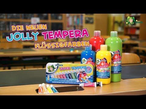 JOLLY Tempera Flüssigfarben