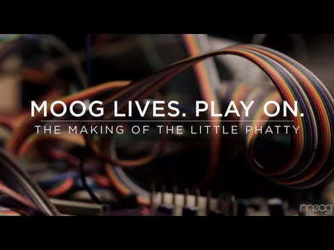 Moog Lives.  Play On.