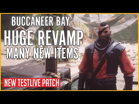 Buccanner Bay Huge Revamp | Conan Exiles new testlive patch