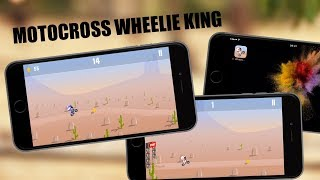 Очень крутая игра! Попробуй проехать! Motocross Wheelie King на iPhone