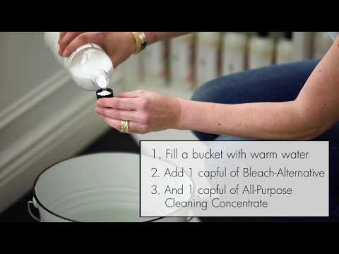 How To Use All-Purpose Bleach Alternative for Laundry & Home Cleaning by The Laundress