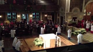 """Hark! A Thrilling Voice Is Sounding"", St. Bartholomew's Church"
