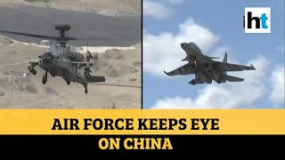 India-China border: IAF uses attack choppers, fighter jets for surveillance - Download this Video in MP3, M4A, WEBM, MP4, 3GP