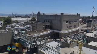 Headworks Facility Demolition Time-lapse