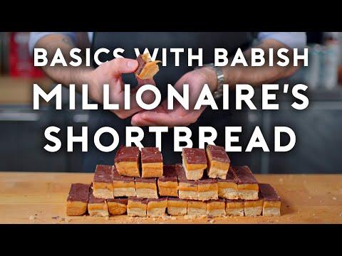 Millionaire's Shortbread   Basics with Babish