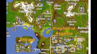 Old 2007 server Runescape Most efficient way to fly fish Salmon and Trout