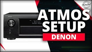 Denon AVR-X4400H Unboxing & Dolby Atmos Setup 5.1.4 & 7.1.2
