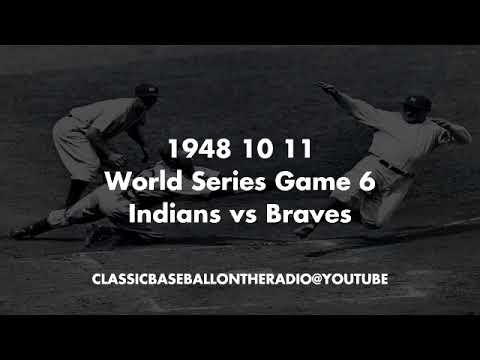 1948 10 11 World Series Game 6 Indians at Braves
