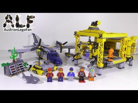 Vidéo LEGO City 60096 : La base opérationnelle en haute-mer