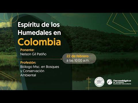 Espíritu de los humedales en Colombia