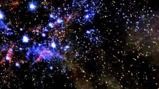 Футаж Звёзды, космос, Вселенная - Footage Stars, space