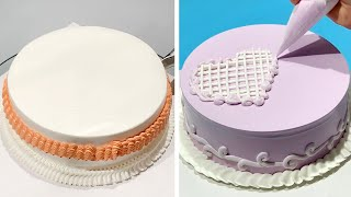 Awesome Cake Decorating Ideas For Baby Girl Birthday | Most Satisfying Chocolate Cake Decorating