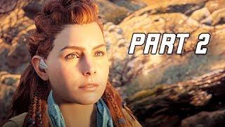 Horizon Zero Dawn Walkthrough Part 2- The Proving (PS4 Pro Let's Play Commentary)