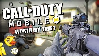 """Is """"Call of Duty: Mobile"""" Worth My Time?"""