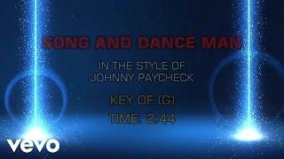 Johnny Paycheck - Song And Dance Man (Karaoke)