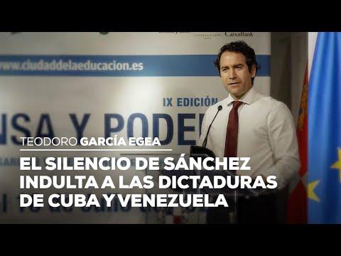 El silencio de Sánchez indulta a las dictaduras de Cuba y Venezuela
