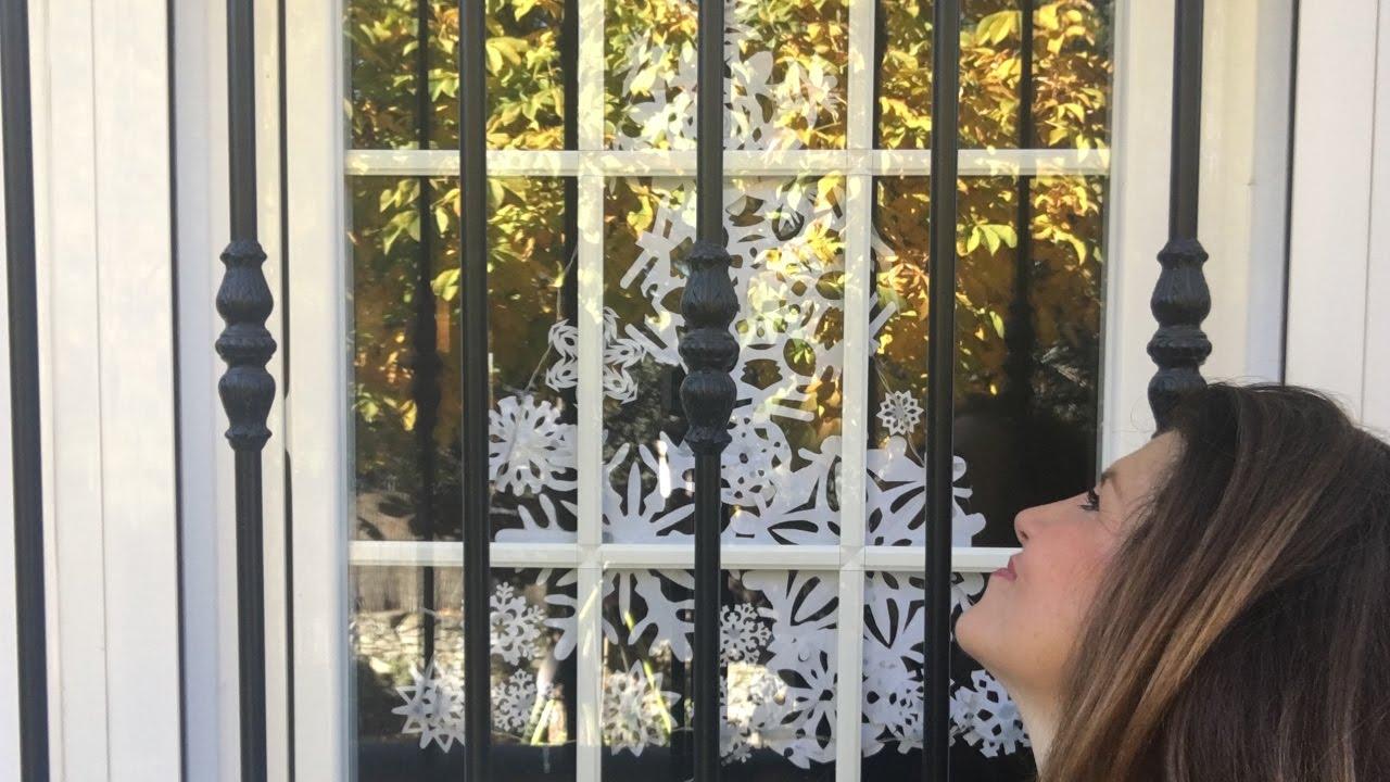 A Papá Noel le encanta esta DECORACIÓN NAVIDEÑA/ DIY Snow flakes