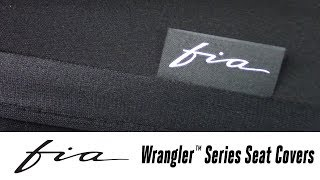 In the Garage™ with Total Truck Centers™: Fia Wrangler™ Series Seat Covers