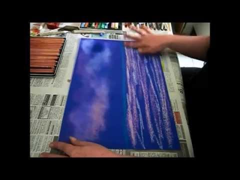 Grundwissen Pastellmalerei vom Verwischen bis zur Fixierung, Teil 1, pastel painting